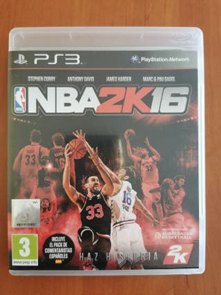 Juego Ps3 NBA 2K16