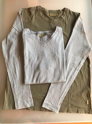 Camiseta y chaleco KENZO