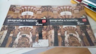 Libro geografia e historia 2 °eso
