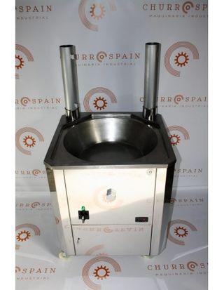 Freidora industrial automática a gas 800mm/35,6kw/