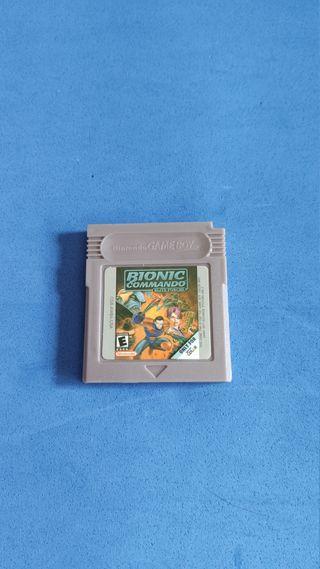 Juego de Game Boy Color, Bionic Commando