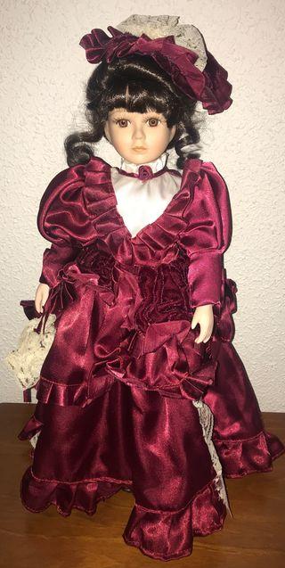 Muñeca de Porcelana para Coleccionistas