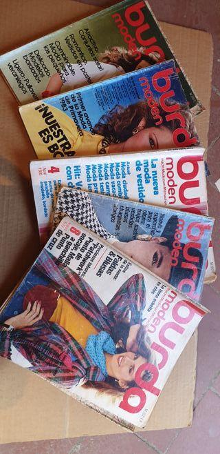 Revistas BURDA años 80