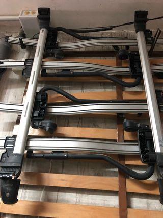Barra de techo BMW X3 e83 con portabicicletas