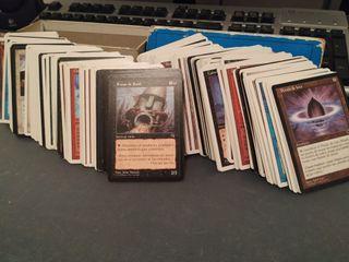 Cerca de 294 cartas Magic 1995/96/97