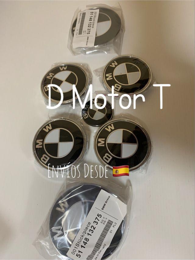 Set 7 emblemas BMW-3 modelos