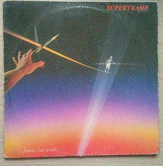 Disco de vinilo Supertramp Famous last Wods