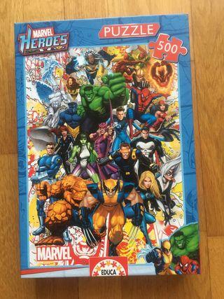 Puzzle 500 piezas Marcel Heroes educa