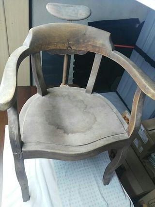 sillón barbero para restaurar