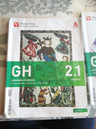 Libro Geografía e Historia 2. 1