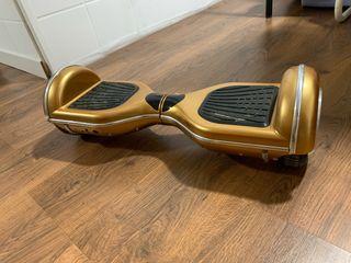 Hoverboard color dorado
