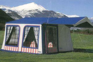 Remolque carro tienda camping