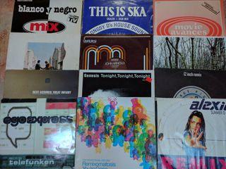 LOTE de discos vinilo Deep House, tech, chill