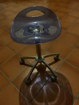 Silla rotatoria , para peluquería o manicuras