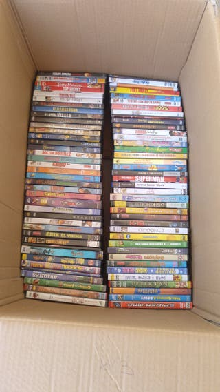 Lote de películas DVD