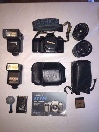 cámara de fotos yashica analógica PACK estudiantes