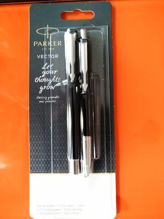 Parker Vector(set pluma estilográfica + bolígrafo)
