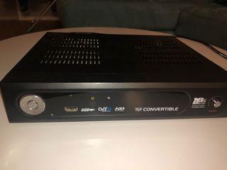 Decodificador TDT con disco duro grabador
