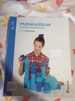 Libro de matemáticas aplicadas 4ESO
