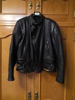 chaqueta moto de cuero