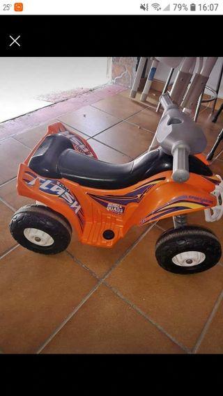 Moto quad Fever 6V.