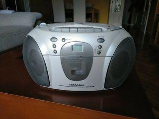 Radio cassette CD.