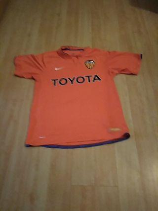 camiseta Valencia 2008