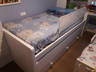 Rebajado compacto 2 camas 105x200 y 3 cajones