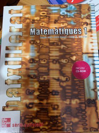 Libros bachillerato catalan matematicas y l
