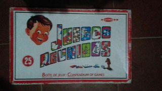 JUEGOS REUNIDOS GEYPER-25 JUEGOS.