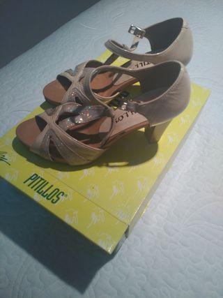 zapatos tacón pitillos n° 35