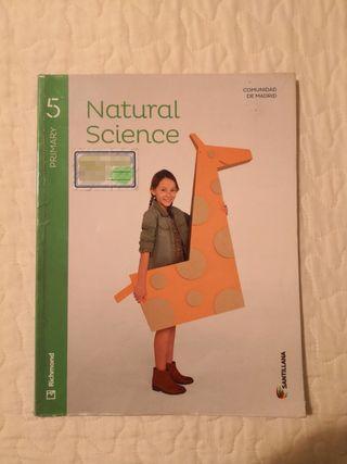 Libro Natural Science 5º primaria