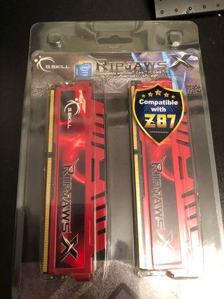 GSkill Ripjaws X - 8Gb DDR3 (4Gb x 2)