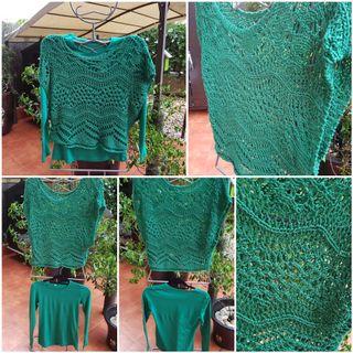 Camiseta y jersey crochet NUEVO A ESTRENAR