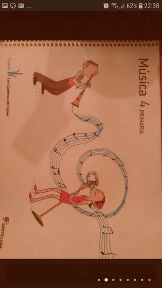 libro música 4 primaria