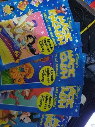 8 Libros Disney para aprender inglés