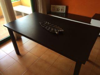 Mesa comedor wengué