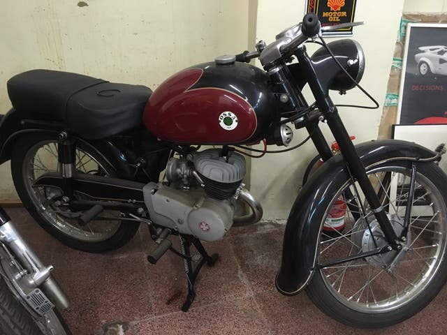 OSSA 125B año 1957