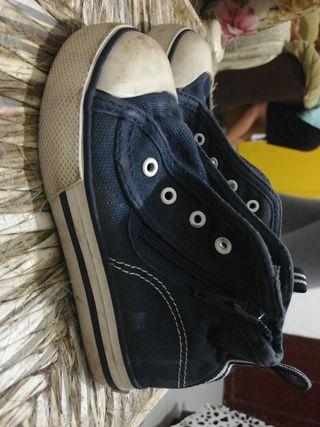 zapatillas altas talla 23