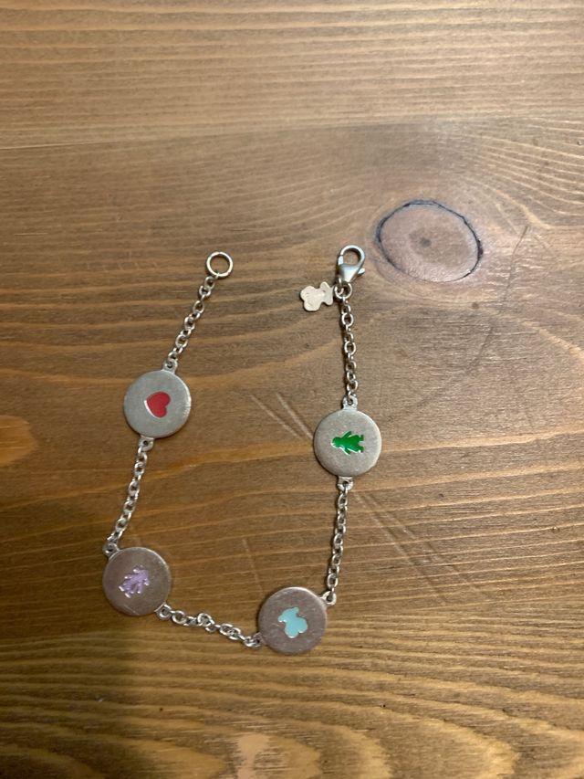 Pulsera, collar y anillo PLATA TOUS ORIGINAL
