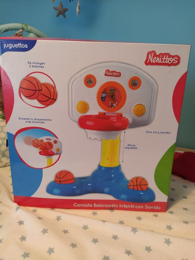 juguete canasta bebe