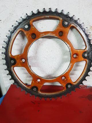 Corona plato KTM exc sx