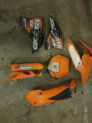 kit plásticos KTM exc