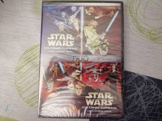 Star Wars DVD The Clone Wars nuevo y sellado