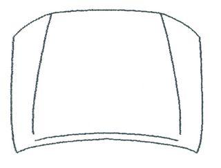 TOYOTA HILUX 06 CAPOT(2WD)