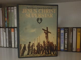 Caja casettes Jesus Christ Superstar