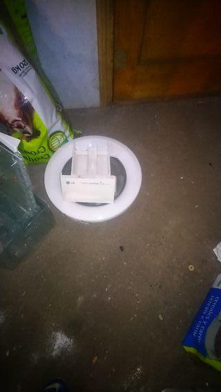 Puerta y cajón de lavadora