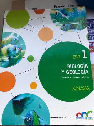 Libro biología y geología 1 eso