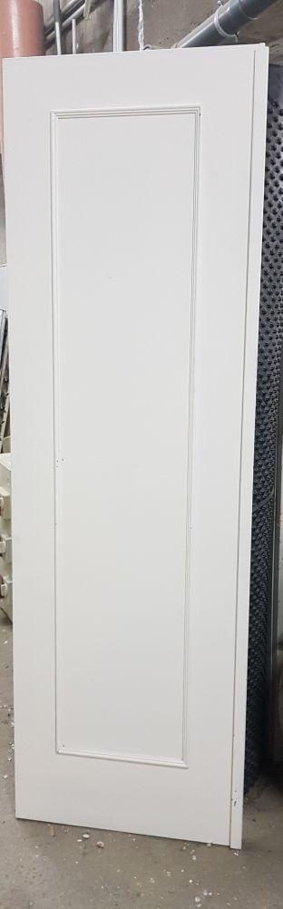 puertas madera lacada blanco