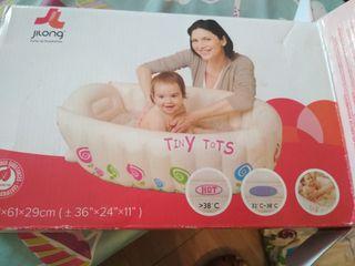 Bañera bebé hinchable